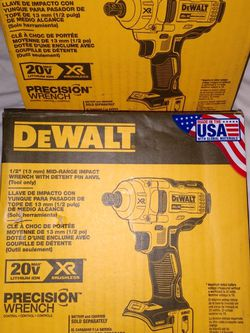 Brand New Dewalt Half Inch Mid-range Impact for Sale in Cape Coral,  FL