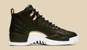Jordan 12 Midnight Black (Woman's) for Sale in Santa Monica, CA