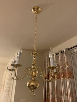 Golden chandelier for Sale in Bristow,  VA