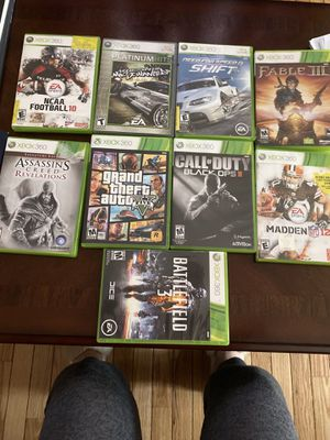 Xbox 360 Games - all used for Sale in Germantown, MD