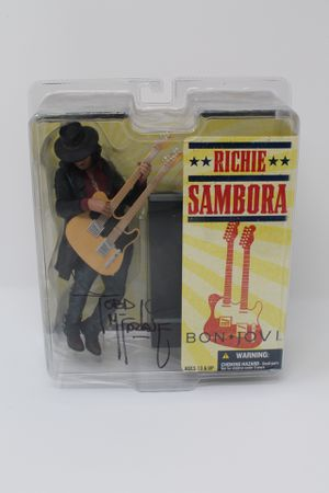Richie Sambora collectible statue, autographed by Todd McFarlane for Sale in Spring Hill, TN