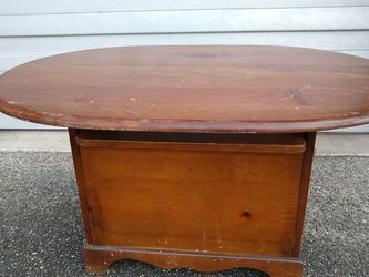 Free: Solid Wood Coffee Table for Sale in Issaquah,  WA