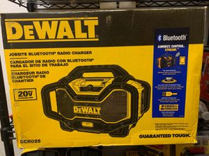 NEW JOBSITE BLUETOOTH RADIO CHARGER for Sale in Dallas, TX