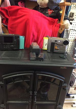 """2 Sony Digital Mavica cameras (use 3 1/2"""" floppy disc) for Sale in Arp, TX"""