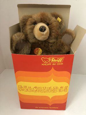 Steiff Molly Bear with Tag in ear with box for Sale in Pittsboro, NC