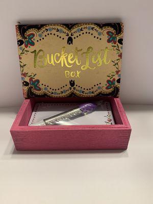 Bucket List Box for Sale in El Dorado, AR