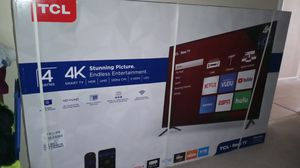 "65"" TCL Roku 4K TV *NEW IN SEALED BOX* for Sale in Tempe, AZ"