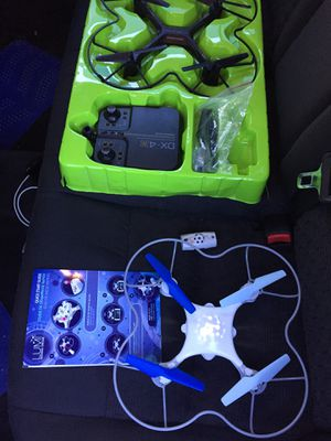 2 Drones Dx-4! And LUMI gaming one! Both Fly great! Pick 1 or both as a deal! for Sale in Ormond Beach, FL