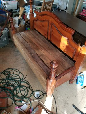 Wood bench for Sale in Altoona, AL