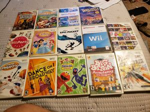 Wii games for Sale in Tacoma, WA
