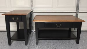 Excellent condition set Eed table and coffee table for Sale in Peoria, AZ