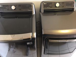 Like new LG washer & dryer for Sale in Los Angeles, CA
