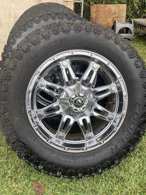 Rines Fuel 20s 6 birlos universales para Chevy y Ford for Sale in Duncanville, TX