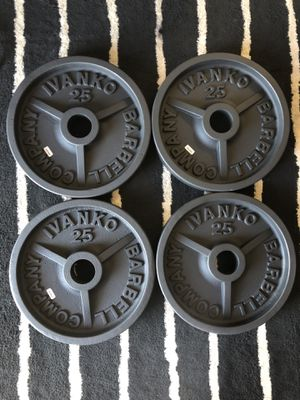 Olympic weight plates!!!! for Sale in La Mesa, CA