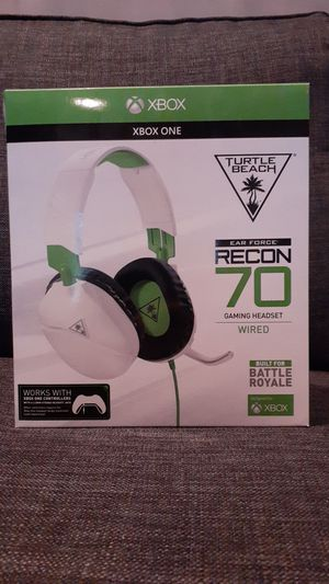 Turtle Beach earforce Recon 70 gaming wired headset for Sale in Natick, MA