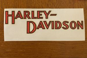 Harley Davidson Decal for Sale in San Diego, CA