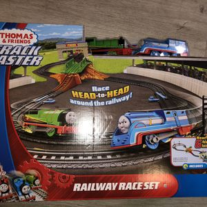 THOMAS & FRIENDS Train Toy TRACK MASTER MOTORIZED RAILWAY RAILWAY RACE SET NEW for Sale in Las Vegas, NV