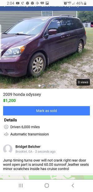 Honda odyssey for Sale in Brooklet, GA