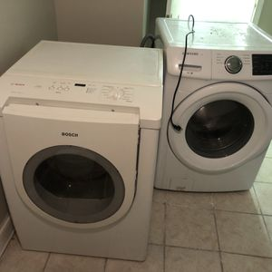 Samsung Washer And Bosch Dryer for Sale in Leesburg, VA