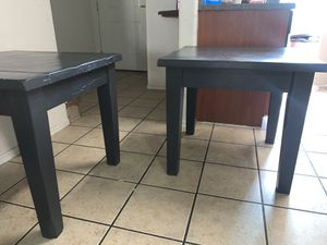 2 Black end tables from living spaces for Sale in Gilbert, AZ