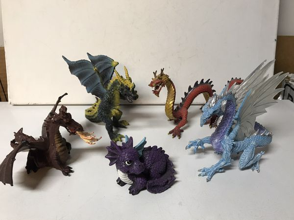 Toy Dragons 5-6""