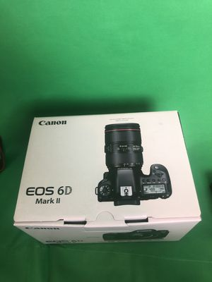 Canon 6D Mark ii Camera Body Only (professional DSLR camera) for Sale in Stone Mountain, GA
