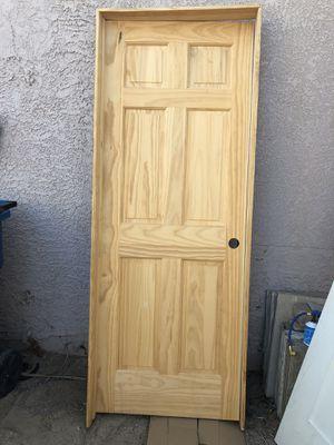 30x80 whit frame left hand for Sale in Las Vegas, NV