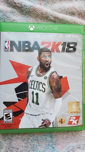 XBOX ONE NBA 2K18 for Sale in Fountain, CO