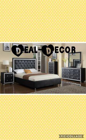 Black 4 Piece Bedroom Set for Sale in Marietta, GA