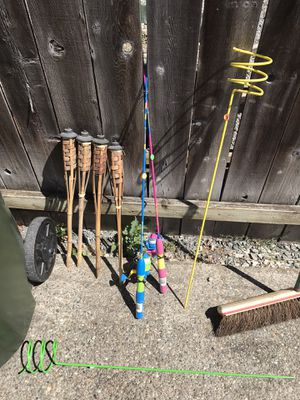 Kids / junior fishing poles for Sale in Eatonville, WA