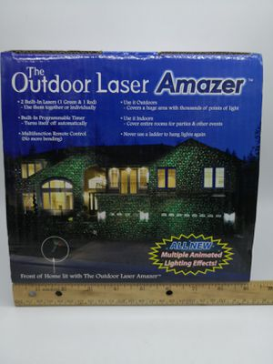 New outdoor lawn Laser with Multiple Animated light effects for Sale in Elk Grove Village, IL
