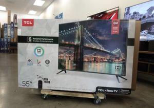"55"" tcl UHD SMART TV ROKU 4K for Sale in Las Vegas, NV"