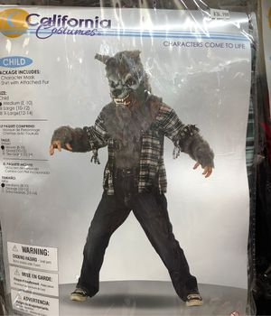 Child's wolf costume for Sale in Tustin, CA