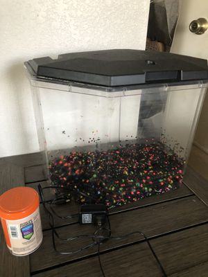 Complete Fish Tank kit + food for Sale in San Marcos, CA