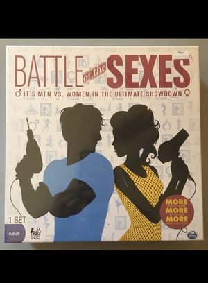 Battle of the Sexes board game for Sale in Villas, NJ