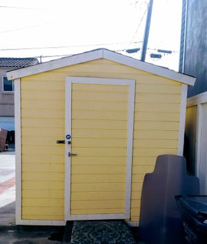 All Wood Yard Shed 8ft by 10ft for Sale in HUNTINGTN BCH, CA