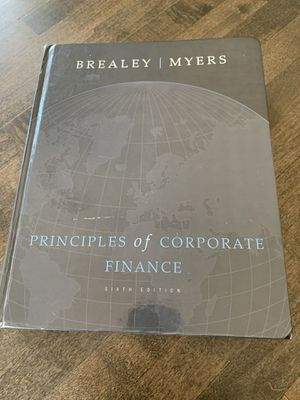 Principles of Corporate Finance - Brealey, Myers (hardcover and CD-Rom) for Sale in Portland, OR
