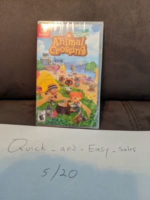 Animal crossing brand new for Nintendo Switch for Sale in Lutz, FL