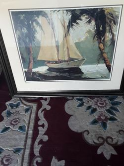 very Nice Picture In Frame $30 for Sale in Federal Way,  WA