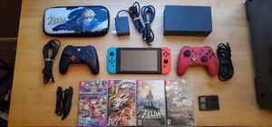 Nintendo switch bundle! for Sale in Las Vegas, NV