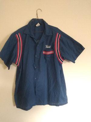 Rare! Hilton Pabst Blue Ribbon 1957 Pabst Bowling League Button Down Shirt Size: L for Sale for sale  Tacoma, WA