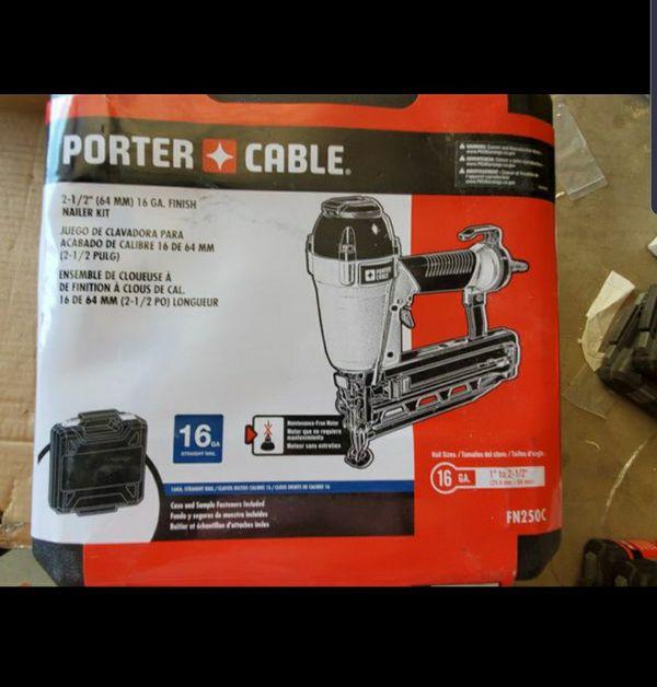 Porter-Cable FN250C nailer