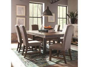 7pc dining table set on sale 🎈🎈🎈$899 for Sale in Fresno, CA