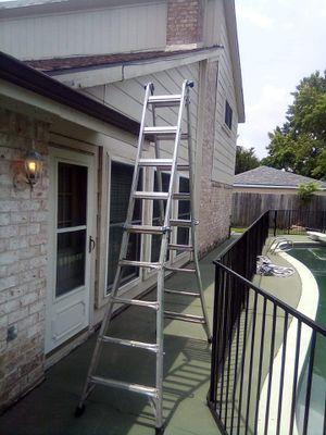 Werner aluminum multi ladder for Sale in Houston, TX