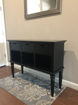 Black console / credenza / Entry table stand for Sale in Gilbert, AZ