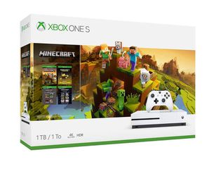 Xbox one s Minecraft bundle for Sale in Abilene,  TX