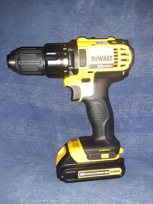 Dewalt Drill Driver 20V Max for Sale in Fresno, CA