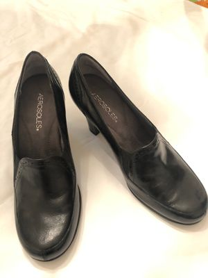 Black dress shoes Never worn Ladies size 8.5 for Sale in Odessa, FL
