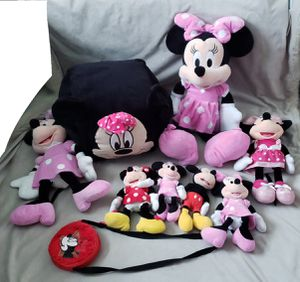 Minnie Mouse and Mickey Mouse plushies for Sale in Dallas, TX