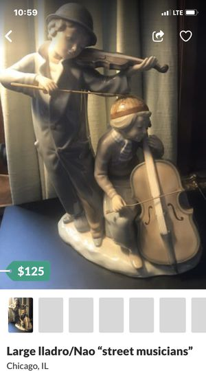 Large Lladro / Nao Street Musicians porcelain statue for Sale in Chicago, IL